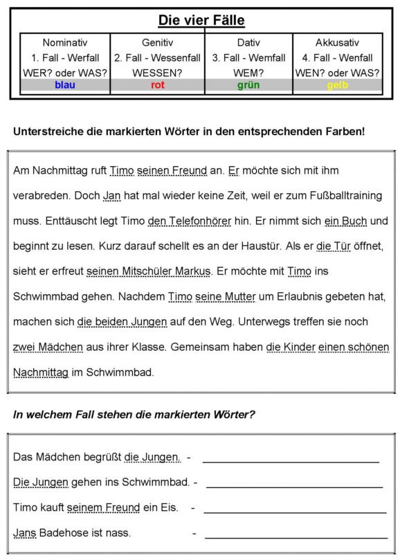 Vier Fälle - Arbeitsblatt 2 - Medienwerkstatt-Wissen © 2006-2017 ...