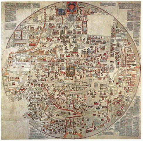 ebstorfer weltkarte unterricht Die Ebstorfer Weltkarte   Die größte illustrierte Weltkarte des