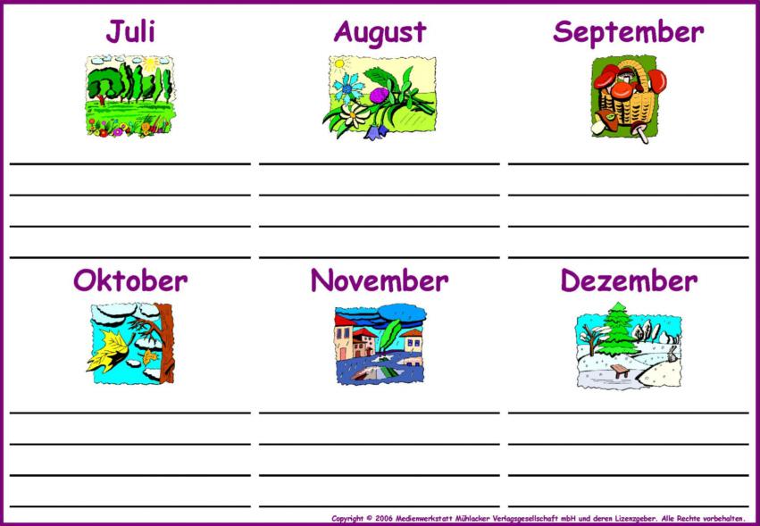 Geburtstagskalender kindergarten vorlagen