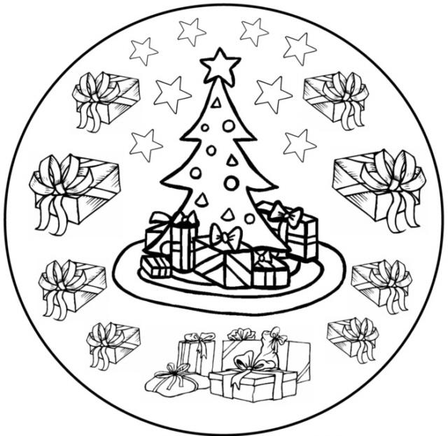 weihnachtsmandala 7  medienwerkstattwissen © 20062017
