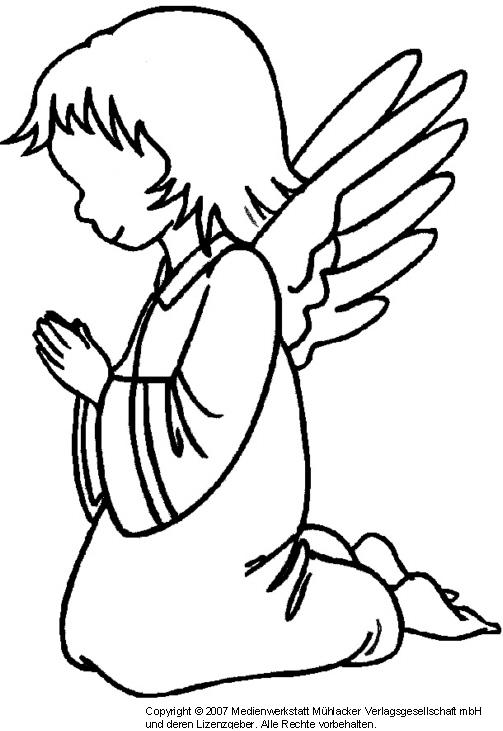 Engel Vorlage Zum Ausdrucken Als Pdf Kribbelbunt 5